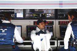 Felipe Massa, Williams, Rob Smedley, Williams Head of Vehicle Performance