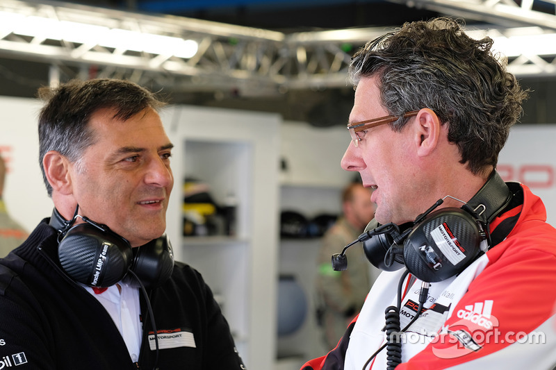 Michael Steiner, Member of the Executive Board Research and Development Porsche AG, Dr. Frank-Steffe