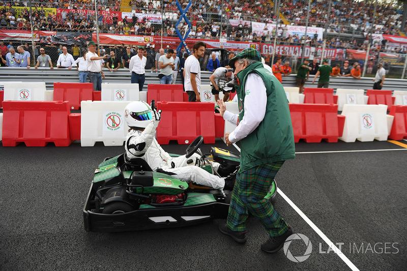 Karting and Sir Jackie Stewart