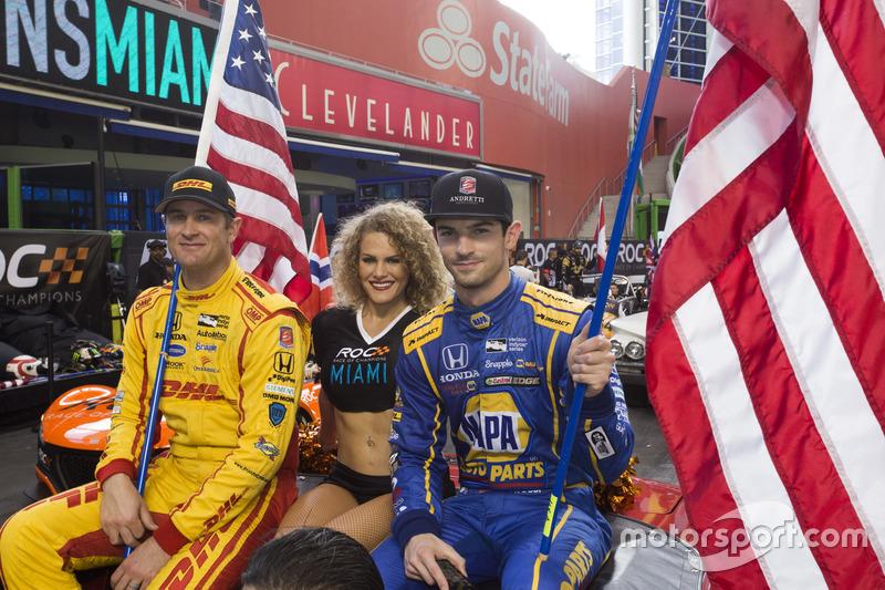 Team USA IndyCar Ryan Hunter-Reay y Alexander Rossi