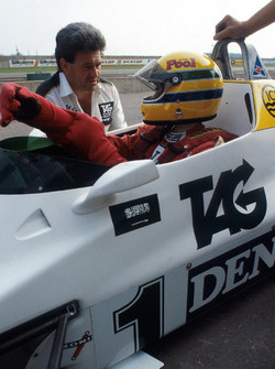 Ayrton Senna im Williams FW08C
