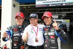 GT500 Polesitters #100 Team Kunimitsu Honda NSX Concept GT: Naoki Yamamoto, Takuya Izawa