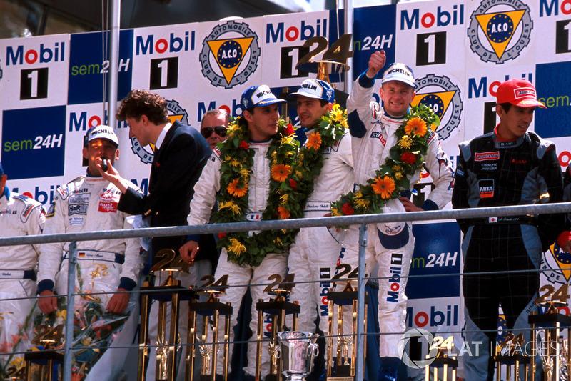 1998: Laurent Aiello, Allan McNish, Stéphane Ortelli