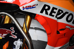 Neue Verkleidung am Bike von Dani Pedrosa Repsol Honda Team