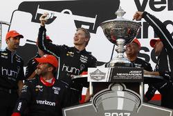 IndyCar-Champion 2017: Josef Newgarden, Team Penske Chevrolet