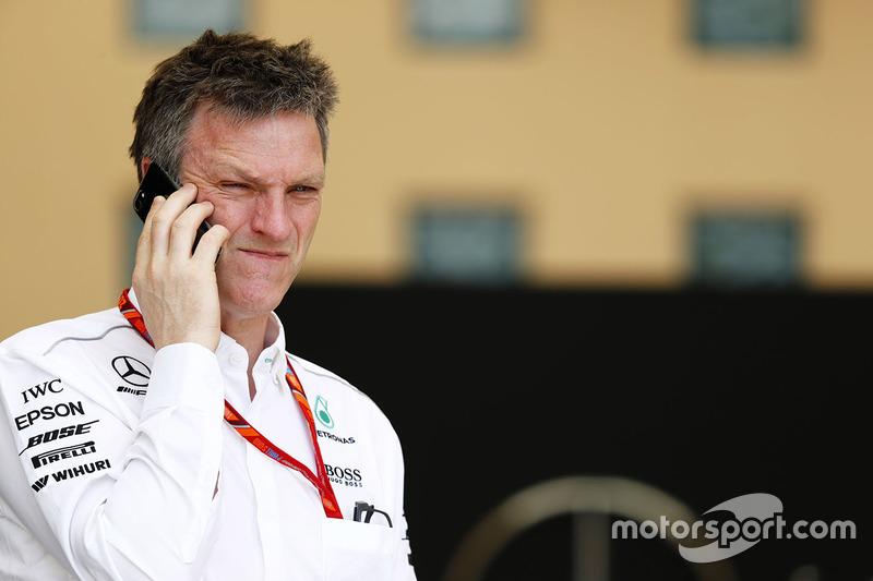 James Allison, Mercedes AMG F1, Technikchef