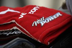Handschuhe von Will Power, Team Penske, Chevrolet