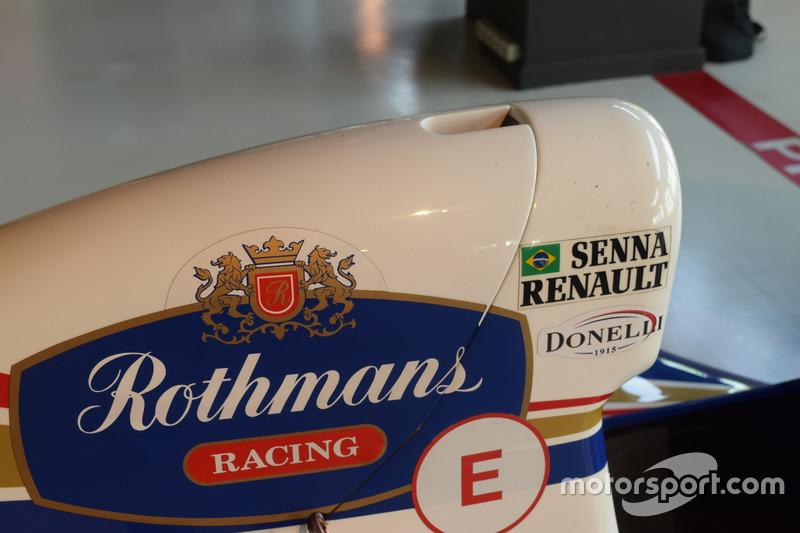 Williams-Renault FW16 von Ayrton Senna aus der Formel-1-Saison 1994