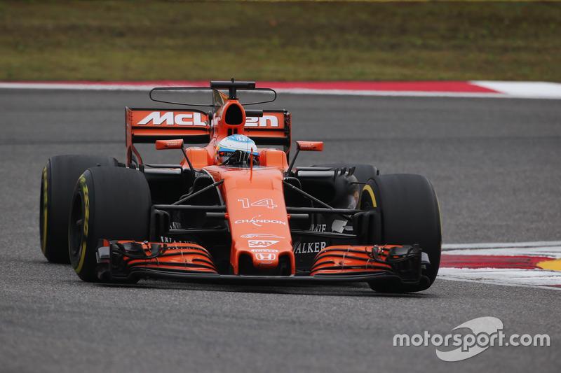 Fernando Alonso, McLaren-Honda MCL32 (2017)