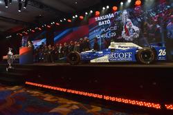 Переможець Такума Сато, Andretti Autosport Honda