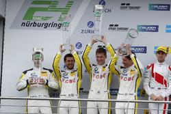 Podyum: 2. #98 Rowe Racing, BMW M6 GT3: Markus Palttala, Nicky Catsburg, Richard Westbrook, Alexander Sims