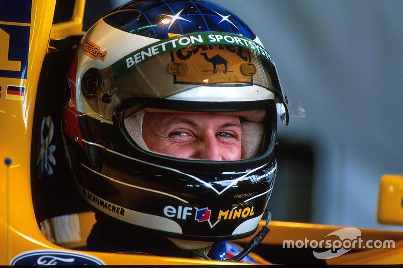 Михаэль Шумахер остался в Benetton и выиграл звание чемпиона мира в двух следующих сезонах.