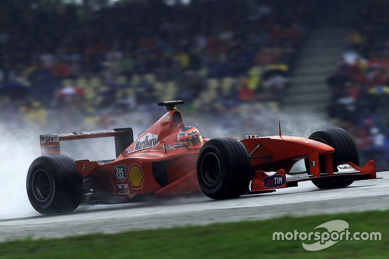 Rubens Barrichello lors du GP d'Allemagne