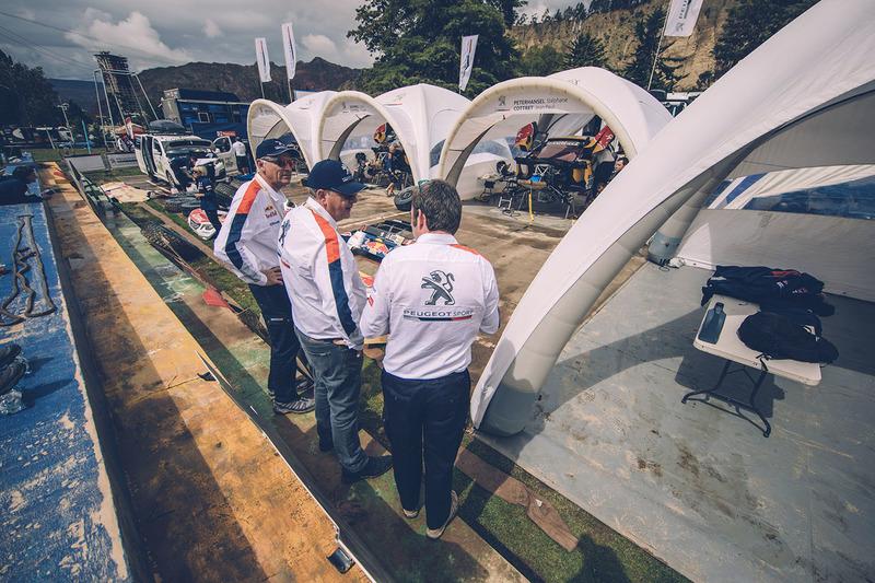 Bruno Famin, Team Peugeot Sport with Jean-Philippe Imparato
