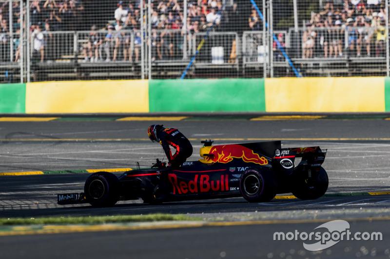 Ausfall: Daniel Ricciardo, Red Bull Racing RB13