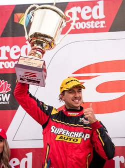 Podium: second place Chaz Mostert, Rod Nash Racing Ford