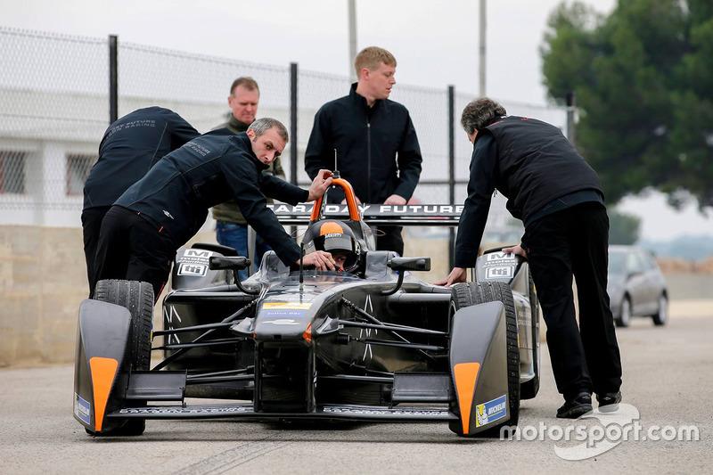 Bono Huis, Faraday Future Dragon Racing prueba