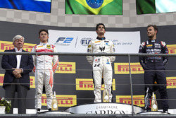Podium: winner Sergio Sette Camara, MP Motorsport, second place Nyck De Vries, Racing Engineering, third place Luca Ghiotto, RUSSIAN TIME