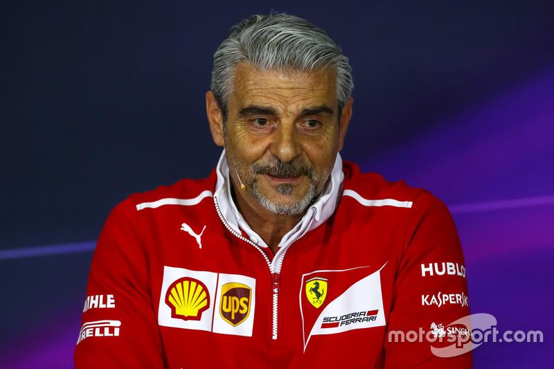 Руководитель команды Ferrari Маурицио Арривабене
