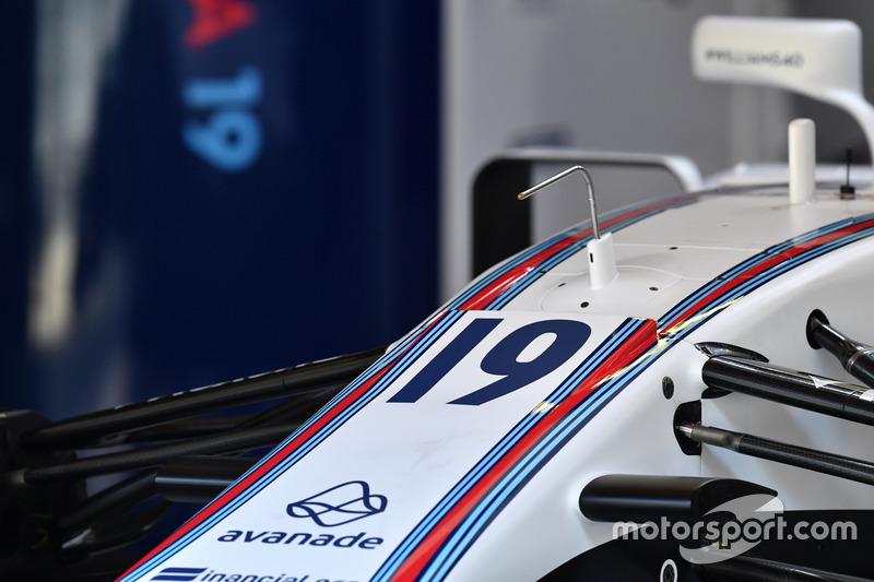 Носовой обтекатель Williams FW40