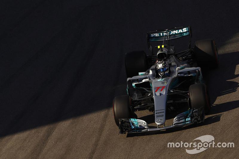 Валттери Боттас, Mercedes – Гран При России 2017 года