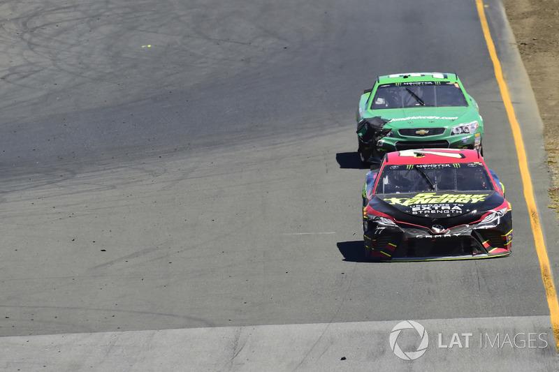 Erik Jones, Furniture Row Racing Toyota, Boris Said, Circle Sport – The Motorsports Group Chevrolet,