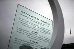 Bernie Ecclestone Central Display