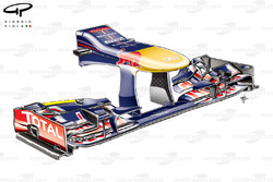 Red Bull RB9 nose and front wing, Italian GP