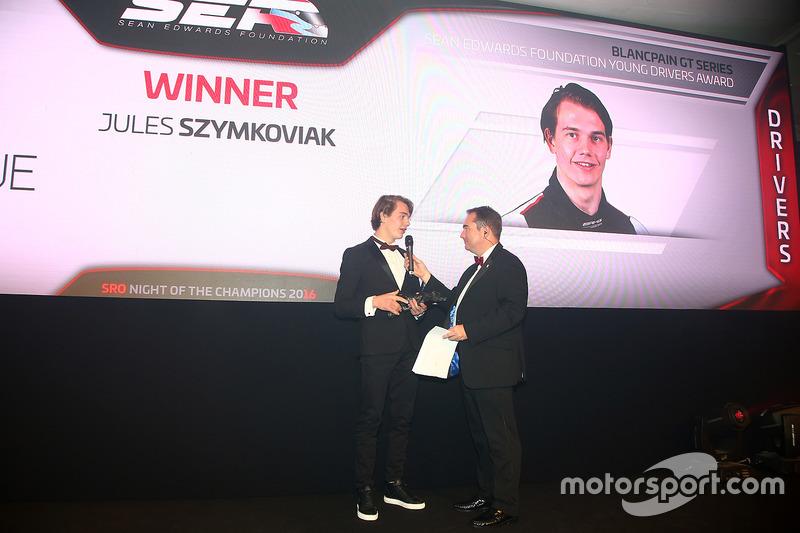 Ganador del trofeo Sean Edwards:  Jules Szymkowiak