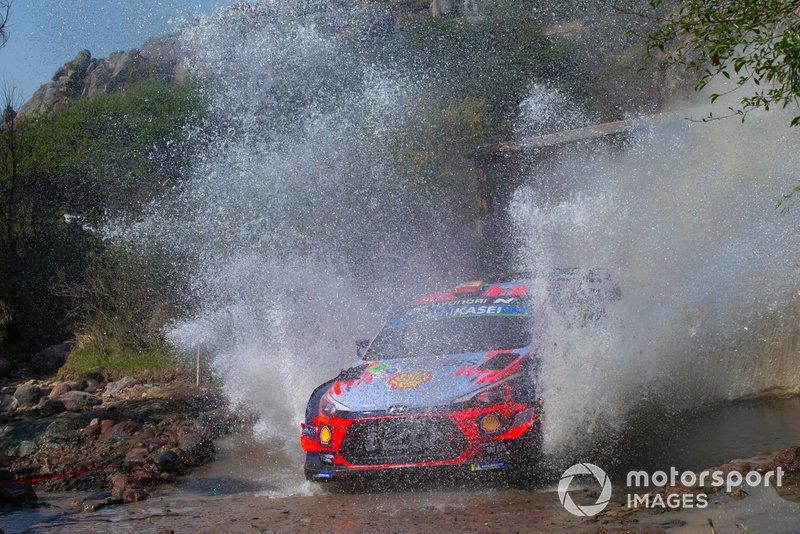 Dani Sordo, Hyundai Motorsport, Hyundai i20 Coupe WRC 2019