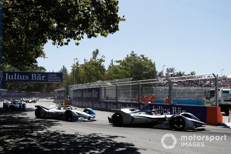 Edoardo Mortara Venturi Formula E, Venturi VFE05, Alexander Sims, BMW i Andretti Motorsport, BMW iFE.18