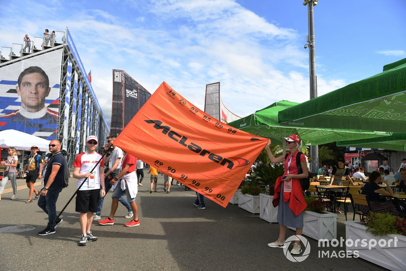 Bandera de McLaren