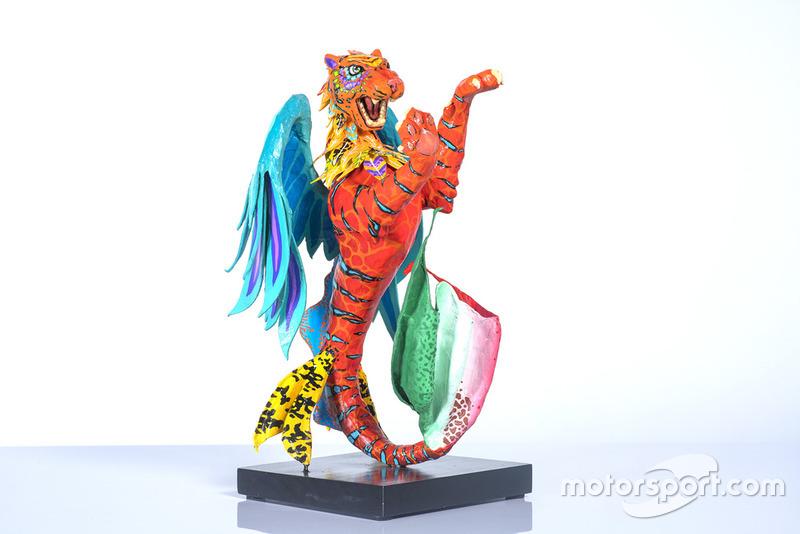 Статуетка Себастьяна Феттеля, Ferrari