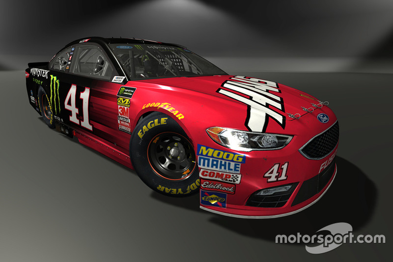 Kurt Busch, Stewart-Haas Racing, Ford Fusion - NASCAR Heat 3 skin