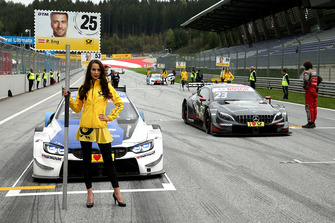 Grid girl of Philipp Eng, BMW Team RBM
