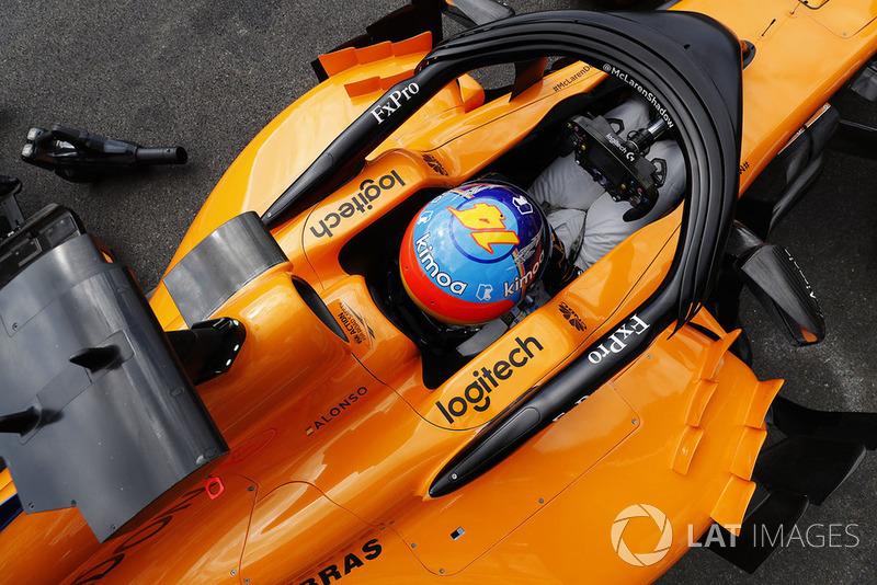14: Fernando Alonso, McLaren MCL33, 1'44.917