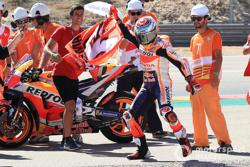 MotoGP Aragon: Marc Marquez, Repsol Honda Team
