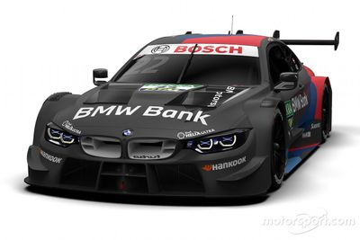 BMW Motorsport renk düzeni tanıtım