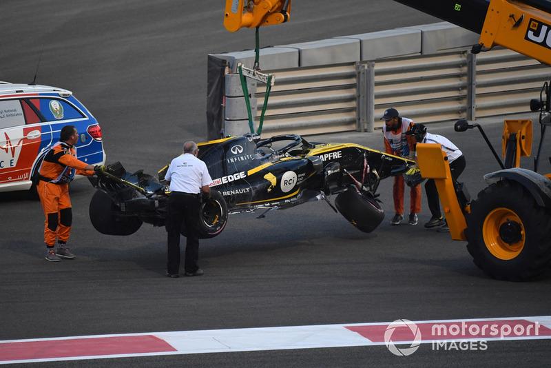 Розбитий болід Ніко Хюлькенберга, Renault Sport F1 Team R.S. 18