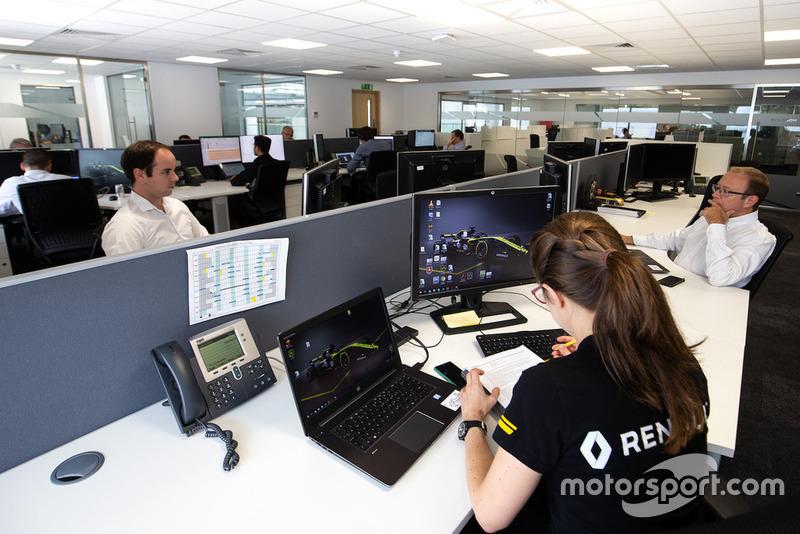 Співробітники Renault F1