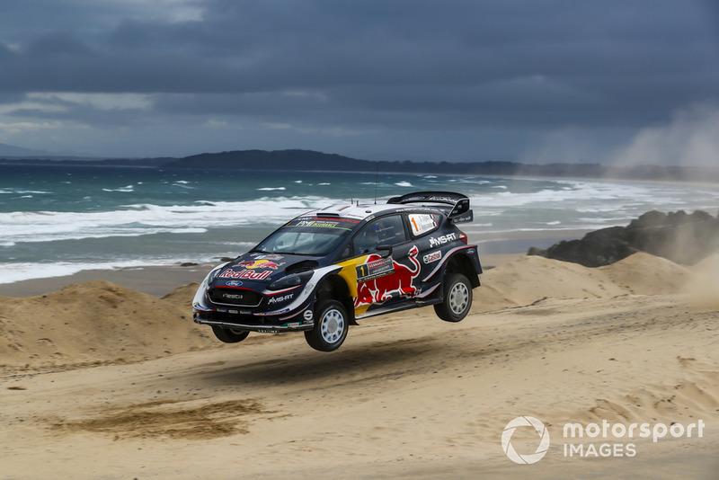 Más puntos en tramos Power Stage: Sébastien Ogier, Julien Ingrassia, Ford Fiesta WRC, M-Sport Ford