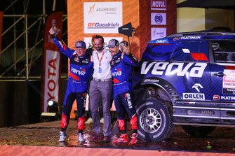 Podium : X-Raid Team Mini: Jakub Przygonski, Tom Colsoul