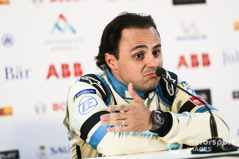 Felipe Massa, Venturi Formula E, in the press conference