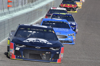 Alex Bowman, Hendrick Motorsports, Chevrolet Camaro Axalta, Matt Kenseth, Roush Fenway Racing, Ford Fusion Wyndham Rewards