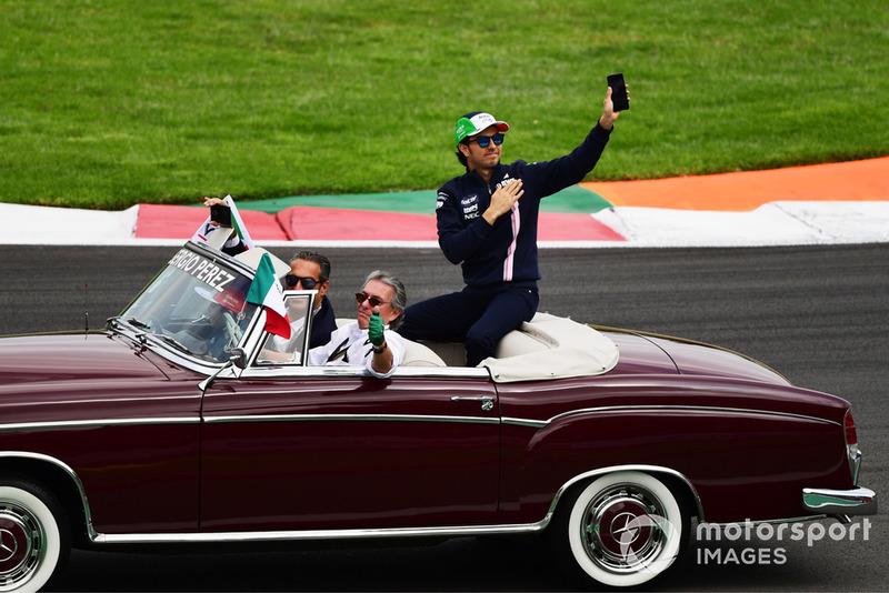 Серхіо Перес, Racing Point Force India