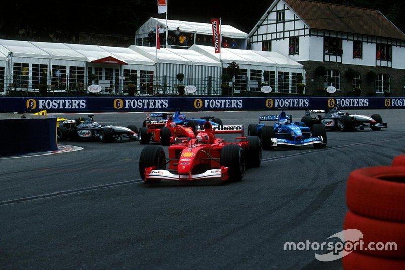 GP Belgia 2001
