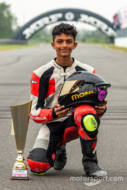 Mohamed Mikail, Champion, Honda India Talent Cup (CBR150)