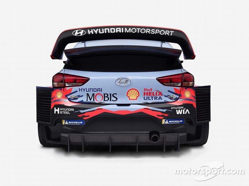Teaser Hyundai i20 WRC 2019