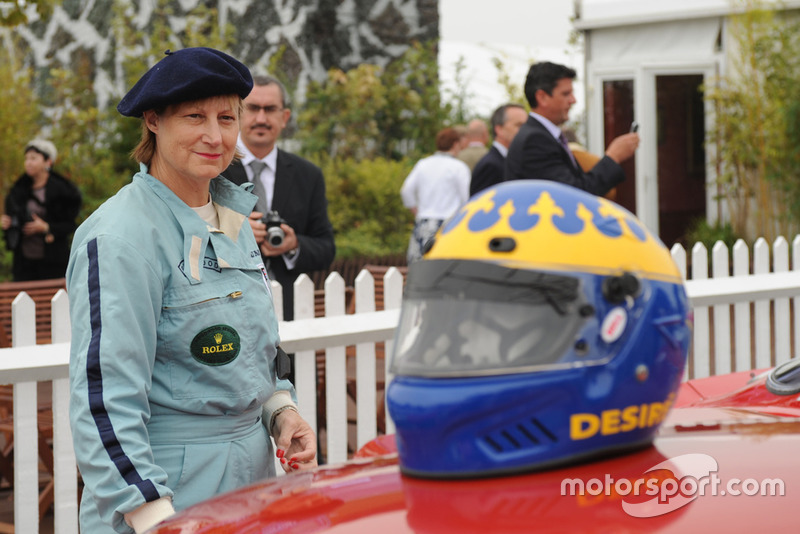Desire Wilson en el Goodwood Revival 2009.