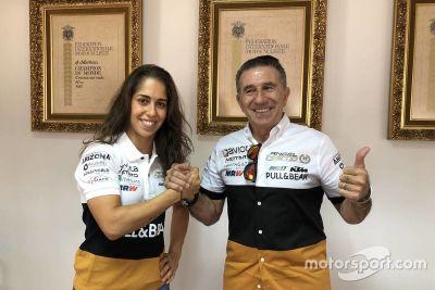 Herrera Ángel Nieto MotoE açıklaması